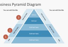 قالب پاورپوینت PowerPoint Pyramid