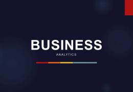 قالب پاورپوینت PowerPoint Analytics