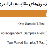 آزمونهای پارامتری