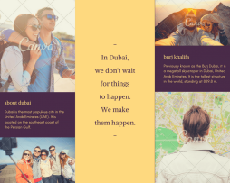 بروشور Brochure 12 Canva