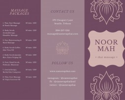 بروشور Brochure 8 Canva