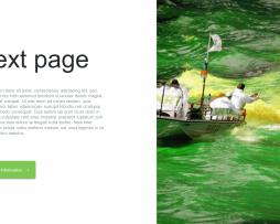 قالب پاورپوینت PowerPoint Green