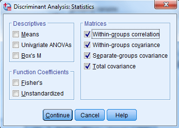 discriminant with spss 10 spss-analysis.ir