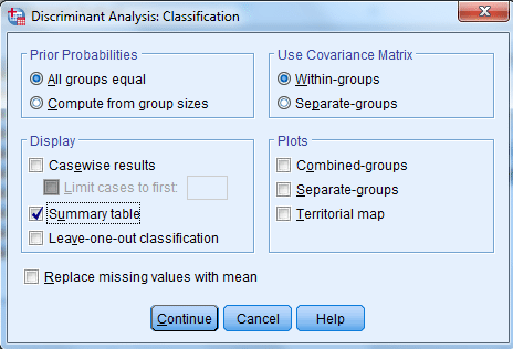 discriminant with spss 8 spss-analysis.ir