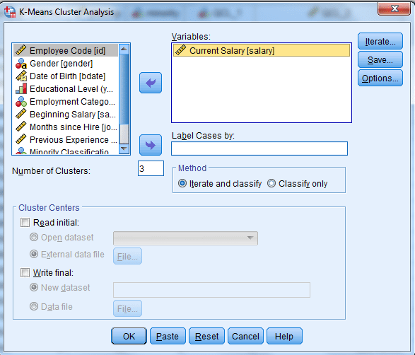 k-means cluster with spss 2 spss-analysis.ir